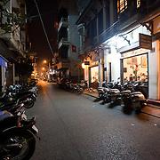 Chim Sao restaurant in Hanoi, Vietnam.