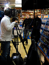 IRELAND DUBLIN 9MAY06 - Singer Ronan Keating (29) at Abbey Discs record store inside the Northside Shopping centre, the place where he bought his first records. The popstar emerged on the international scene in 1994 with the band Boyzone and has since gone solo and is about to release his new album 'Bring You Home' in June this year...jre/Photo by Jiri Rezac..© Jiri Rezac 2006..Contact: +44 (0) 7050 110 417.Mobile:  +44 (0) 7801 337 683.Office:  +44 (0) 20 8968 9635..Email:   jiri@jirirezac.com.Web:    www.jirirezac.com..© All images Jiri Rezac 2006 - All rights reserved.