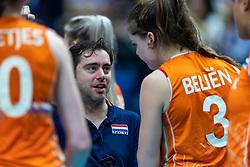 20-10-2018 JPN: Final World Championship Volleyball Women day 18, Yokohama<br /> China - Netherlands 3-0 / Assistent Coach Alessandro Bracceschi of Netherlands