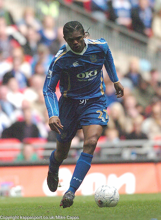 NWANKWO KANU, PORTSMOUTH, West Bromich Albion-Portsmouth, FA Cup Semi Final, Wembley Stadium, 5th April 2008 Score 0-1