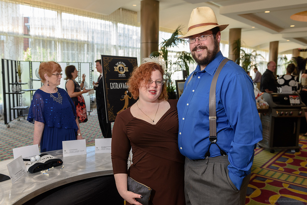 """The Boys & Girls Clubs of Kentuckiana (BGCK) host """"The Big Event – Club Gatsby: A Night in the Roaring 20s"""" fundraiser presented by Brown-Forman Saturday, June 10, 2017 at the Louisville Marriott Downtown, which included a silent and live auction, cocktails and dinner. Black tie attire was optional and 20s themed attire encouraged. (Photo by Brian Bohannon)"""