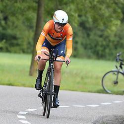 31-08-2017: Wielrennen: Boels Ladies Tour: Roosendaal  <br />Amalie Diederiksen