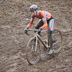 29-01-2017: Wielrennen: Wereldkampioenschap veldrijden: Luxemburg<br />BIELES (LUX) cyclocross  <br />Lars van der Haar