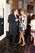 MICK JONES; ASSIA WEBSTER, Stephen Webster hosted  the Stephen Webster Bijoux Tea.  Launching the  tea  inspired by Stephen&Otilde;s most recent fine jewellery collection &Ocirc;Murder She Wrote&Otilde; whichwas also on display. Langham Hotel. Portland Place. London. 14 September 2011. <br /> <br />  , -DO NOT ARCHIVE-&copy; Copyright Photograph by Dafydd Jones. 248 Clapham Rd. London SW9 0PZ. Tel 0207 820 0771. www.dafjones.com.<br /> MICK JONES; ASSIA WEBSTER, Stephen Webster hosted  the Stephen Webster Bijoux Tea.  Launching the  tea  inspired by Stephen&rsquo;s most recent fine jewellery collection &lsquo;Murder She Wrote&rsquo; whichwas also on display. Langham Hotel. Portland Place. London. 14 September 2011. <br /> <br />  , -DO NOT ARCHIVE-&copy; Copyright Photograph by Dafydd Jones. 248 Clapham Rd. London SW9 0PZ. Tel 0207 820 0771. www.dafjones.com.
