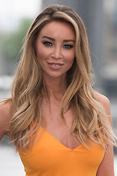 © Licensed to London News Pictures. 11/05/2016. Lauren Pope arrives at Excel Center to give at talk at the Business Show 2016. London, UK. Photo credit: Ray Tang/LNP