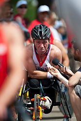 FUSS Alain, FRA, Marathon, T54, 2013 IPC Athletics World Championships, Lyon, France