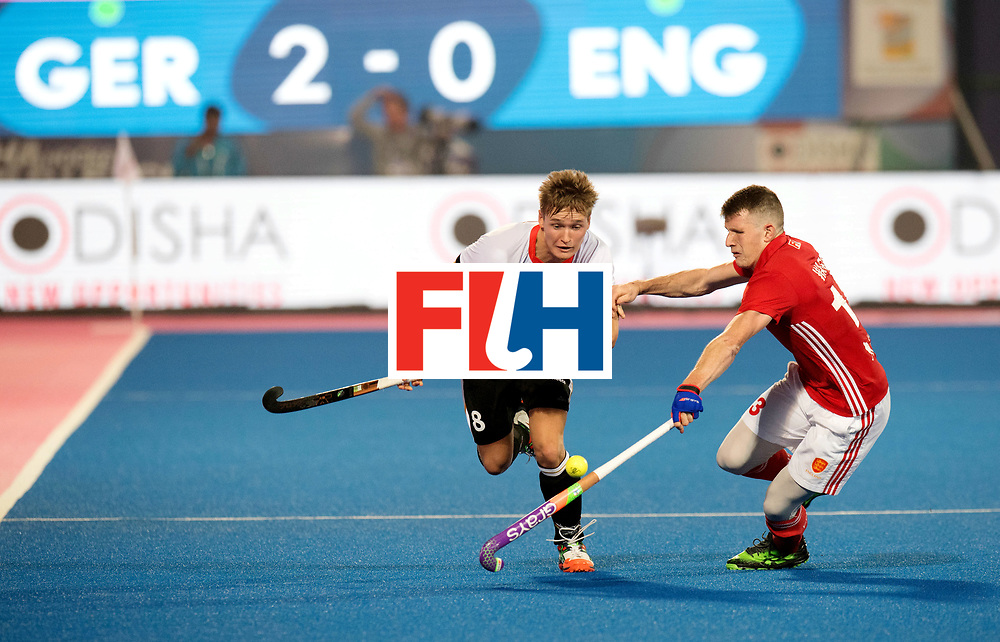 Odisha Men's Hockey World League Final Bhubaneswar 2017<br /> Match id:01<br /> Germany v England<br /> Foto: Julius Meyer (Ger) and Henry Weir (Eng) <br /> WORLDSPORTPICS COPYRIGHT FRANK UIJLENBROEK