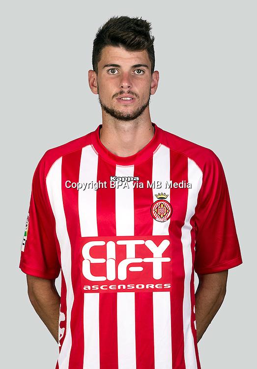 Spain - La Liga Adelante 2015-2016 / <br /> ( Girona F.C. ) - <br /> Albert Vivancos Roig