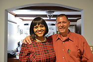 June 21, 2017. Garden City, New York, USA. Democratic candidates MAXINE BRODERICK, for Nassau County District Court Judge; and DOUG MAYER, candidate for Hempstead Town Council, attend event.