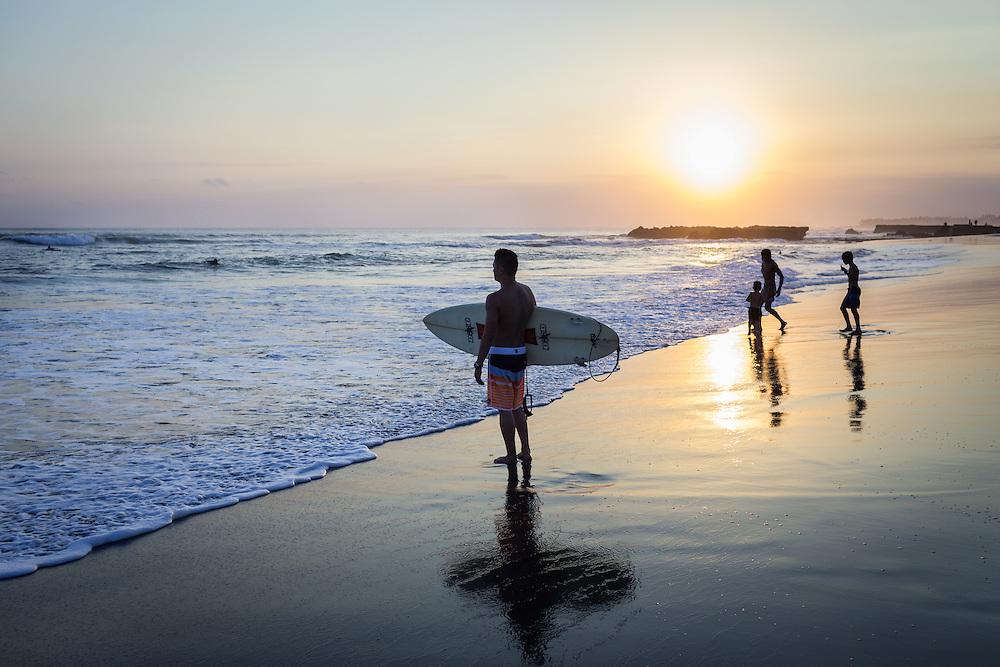 Sunset at Echo Beach, Canggu.