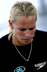 20-08-2006 VOLLEYBAL: NK BEACHVOLLEYBAL: SCHEVENINGEN<br /> Sanne Keizer<br /> &copy;2006-WWW.FOTOHOOGENDOORN.NL