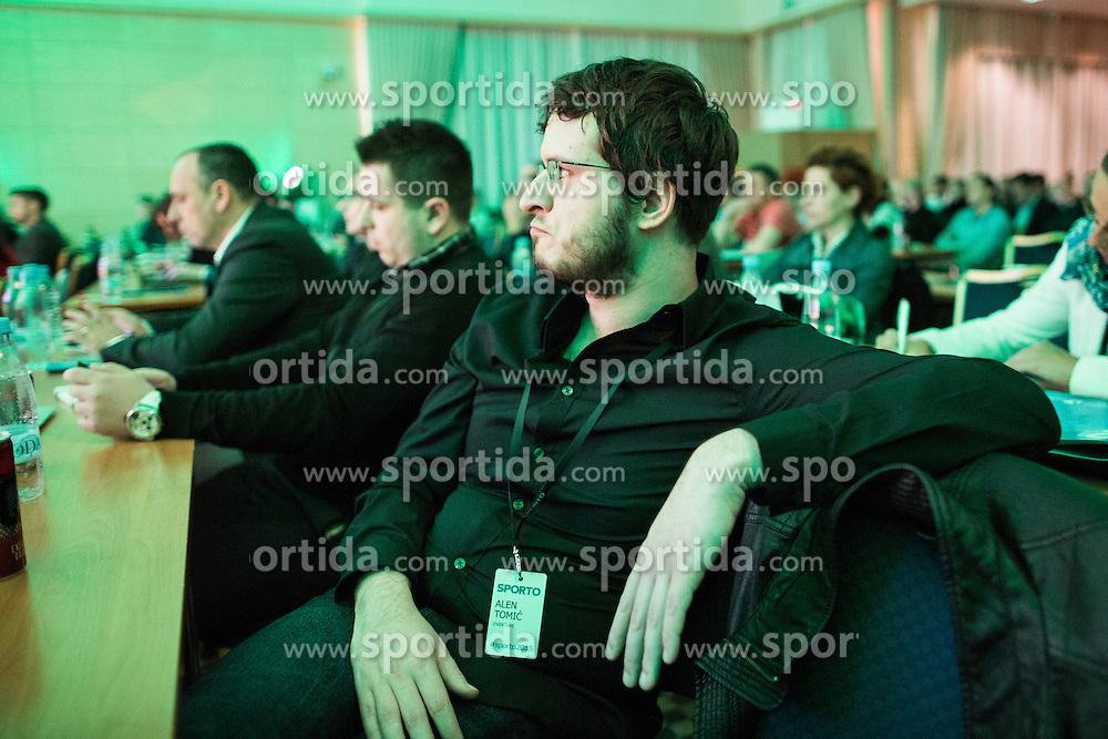 Alen Tomic (Overtime) during Sports marketing and sponsorship conference Sporto 2015, on November 19, 2015 in Hotel Slovenija, Congress centre, Portoroz / Portorose, Slovenia. Photo by Vid Ponikvar / Sportida