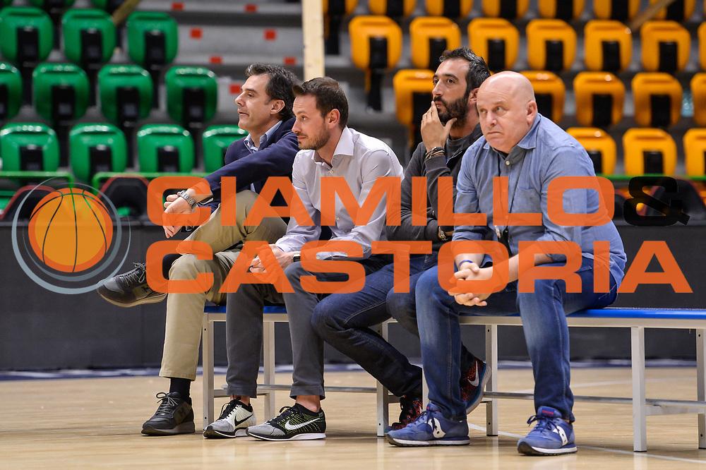 Dirigenza Banco di Sardegna Dinamo Sassari<br /> Saluti Finali Banco di Sardegna Dinamo Sassari<br /> Legabasket Serie A LBA Poste Mobile 2016/2017<br /> Sassari 18/05/2017<br /> Foto Ciamillo-Castoria