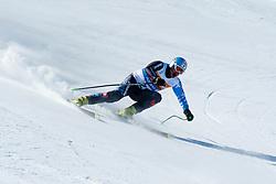 BELADIC Michal Guide: ZATOVICOVA Maria, SVK, Downhill, 2013 IPC Alpine Skiing World Championships, La Molina, Spain