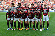 21.04.2013 Sydney, Australia.Wanderers before the Hyundai A League grand final game between Western Sydney Wanderers FC and Central Coast Mariners FC from the Allianz Stadium.Central Coast Mariners won 2-0.