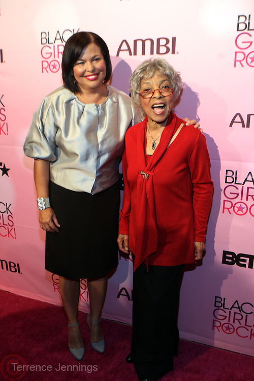 16 October 2010-New York, NY- l to r: Deb L.Lee, President and CEO of BET and Ruby Dee at The Black Girls Rock! Shot Caller's Reception Presented by Beverly Bond and BET held at Fred's at Barneys New York on October 15, 2010 in New York City. ..BLACK GIRLS ROCK! Inc. is 501(c)3 non-profit youth empowerment and mentoring organization established to promote the arts for young women of color, as well as to encourage dialogue and analysis of the ways women of color are portrayed in the media. Photo Credit:.Terrence Jennings..