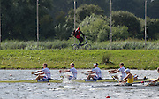 Rotterdam. Netherlands. 2016 GBR BM4+.  Rotterdam. Netherlands. 2016 GBR BM4+.  Bow. Rory GIBBS, Matthew ALDRIDGE, Michael<br /> GLOVER, Christopher HEYWOOD and Cox Harry BRIGHTMORE, {WRCH2016} at the Willem-Alexander Baan.   Sunday  21/08/2016 <br /> <br /> [Mandatory Credit; Peter SPURRIER/Intersport Images]
