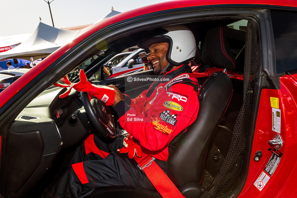"LONG BEACH, CA - APRIL 07 Actor Alfonso Ribeiro a two-time Toyota Pro/Celebrity race winner (1994 & 1995). Best-known for his role as 'Carlton' on ""Fresh Prince Of Bel Air,"" Last season Ribeiro took home the coveted Mirror Ball Trophy on ""Dancing With The Stars."" at the 2015 Toyota Celebrity/PRO Press/Media Day in Long Beach, CA. 2015 April 7. Byline, credit, TV usage, web usage or linkback must read SILVEXPHOTO.COM. Failure to byline correctly will incur double the agreed fee. Tel: +1 714 504 6870."