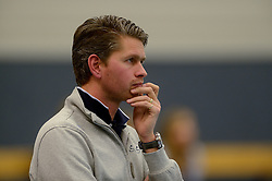 12-01-2013 VOLLEYBAL: SSS - AMBIANT LYCURGUS: BARNEVELD<br /> Lycurgus wint met 3-1 van SSS / Trainer Coach Edward Kamphuis<br /> &copy;2013-FotoHoogendoorn.nl