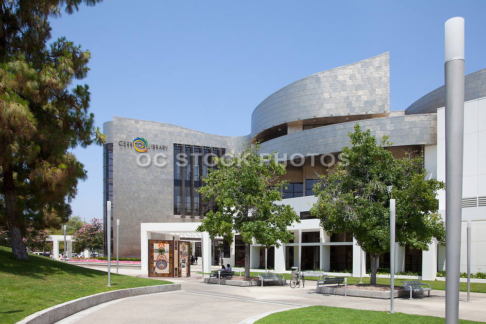 Cerritos Library Plaza