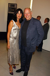 Musician DAVID GILMOUR and his wife POLLY SAMPSON at a party to celebrate the publication of 'Shalimar The Clown' by Salman Rushdie, held at the David Gill Galleries, 3 Loughborough Street, London SE11 on 7th September 2005.<br /><br />NON EXCLUSIVE - WORLD RIGHTS