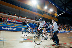 , GBR, GRE, Sprint FInals, 2015 UCI Para-Cycling Track World Championships, Apeldoorn, Netherlands