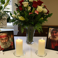 """Jimmy Edward Fair, left, and James Dale """"Slim"""" Miller were remembered Thursday at All Saints Episcopal Church"""