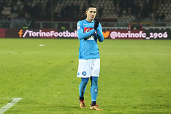 December 16, 2017 - Turin, Piedmont, Italy - Jose Maria Callejon (SSC Napoli) after the Serie A football match between Torino FC and SSC Napoli at Olympic Grande Torino Stadium on 16 December, 2017 in Turin, Italy. SSC Napoli win 3-1 over Torino FC. (Credit Image: © Massimiliano Ferraro/NurPhoto via ZUMA Press)