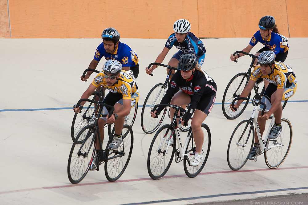 Tuesday Night Racing at the San Diego Velodrome on May 26, 2009., 2009.