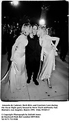 Amanda de Cadenet, Herb Ritts and Courtney Love  during the Oscar Night party hosted by Steve Tisch and Vanity Fair. Morton's. Los Angeles. March 1995. 95549/17<br />© Copyright Photograph by Dafydd Jones<br />66 Stockwell Park Rd. London SW9 0DA<br />Tel 0171 733 0108