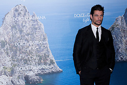 British international model David Gandy during the Dolce & Gabbana Mediterranean Summer Cocktail party, Santo Mauro Hotel, Madrid, Spain 29th May 2013<br /> Photo by Ivan L. Naughty / DyD Fotografos / i-Images<br /> SPAIN OUT