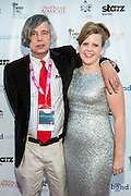 Dean Paschal and Jolene Pinder on the red carpet during opening night of the 25th Anniversary New Orleans Film Festival; Opening night film is 'Black and White' directed by Mike Binder