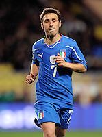 Fussball International, Italienische Nationalmannschaft  Italien - Kamerun 03.03.2010 Andrea Cossu (ITA)