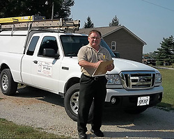 Jun 14, 2017 - Belleville, Illinois, U.S. - JAMES T. HODGKINSON in a photo taken from his Yelp profile page for his home inspection business,  JTH Inspections. (Credit Image: © yelp via ZUMA Wire)