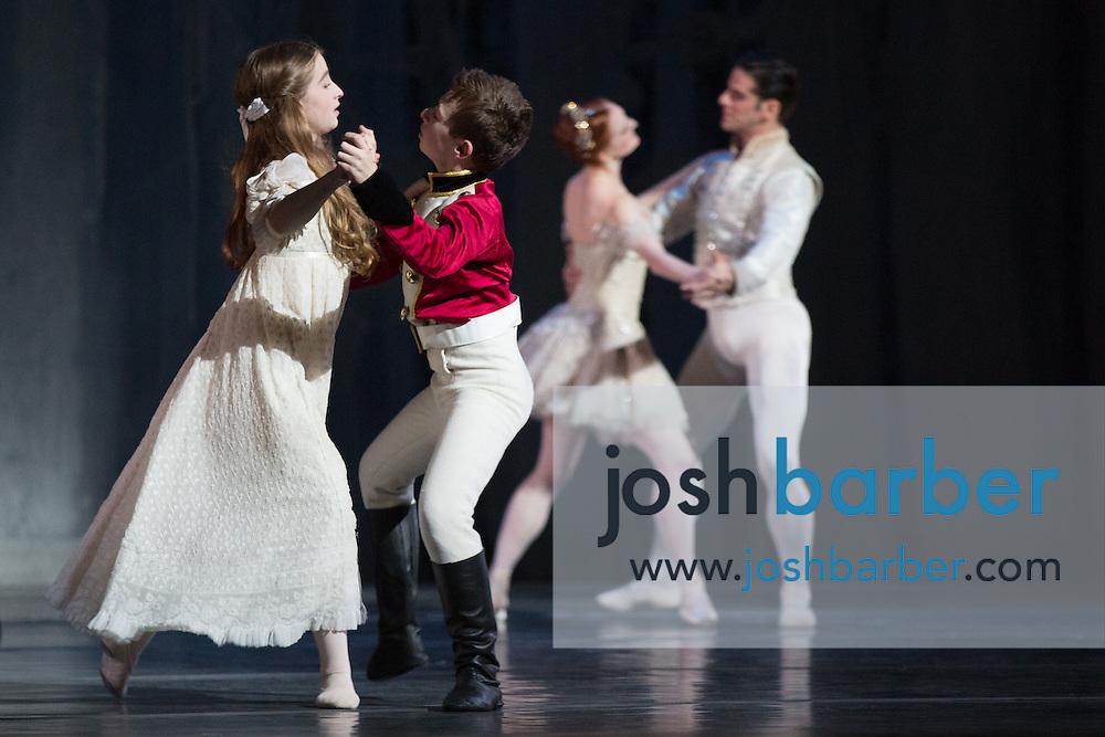 "Claudia Schuman, Seth Koffler, Gillian Murphy, Marcelo Gomes during American Ballet Theatre's performance of ""The Nutcracker"" at Segerstrom Center for the Arts on Thursday, December 10, 2015 in Costa Mesa, California. (Photo/Josh Barber)"