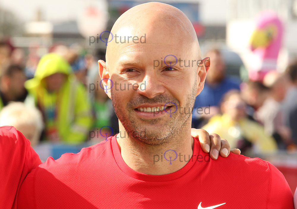 Danny Mills, Virgin Money London Marathon, London UK, 24 April 2016, Photo by Brett D. Cove