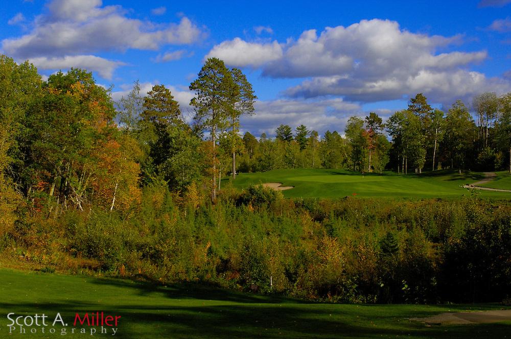Sept. 19, 2006; Brainerd, Minn., USA; No. 17 on Golden Eagle Golf Club part of the Brainerd Golf Trail in Minnesota..                ©2006 Scott A. Miller