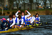 ABERDEEN UNIVERSITIES BOAT RACE 2010 SPONSORED BY ABERDEEN ASSET MANAGEMENT ....   ABERDEEN UNIVERSITY CELEBRATE THEIR WIN.PICTURE ISSUED ON BEHALF OF TRICKER PR CONTACT 07702 363039