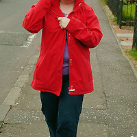 Britain's Got Talent contestant Susan Boyle goes walk about in Blackburn, West Lothian this morning, Friday 15th May 2009.