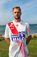 Melvin Platje - 09.09.2015- Photo Officielle de Brest - Ligue 2<br /> Photo : Philippe Le Brech / Icon Sport