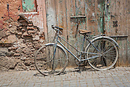 Bicycle in the streets of Marrakesch