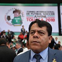 Toluca, México.- (Agosto 01, 2018).- Jorge Luis Monroy Marín, director del Instituto Municipal de Cultura Física y Deporte de Toluca (IMCUFIDET). Agencia MVT / Crisanta Espinosa.