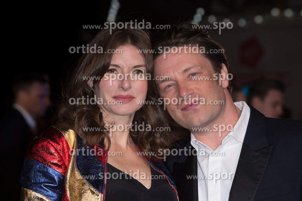 Juliette Norton and Jamie Oliver attends the European premiere for &quot;Eddie the Eagle at Odeon Leicester Square in London, 17.03.2016. EXPA Pictures &copy; 2016, PhotoCredit: EXPA/ Photoshot/ Euan Cherry<br /> <br /> *****ATTENTION - for AUT, SLO, CRO, SRB, BIH, MAZ, SUI only*****