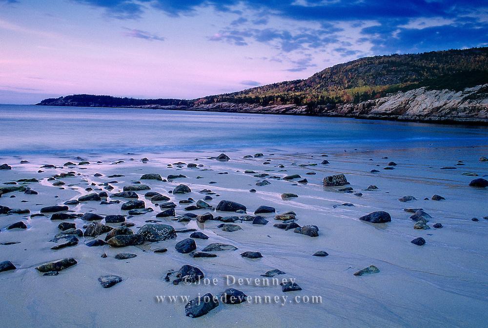 Dawn at Sand Beach. Acadia National Park
