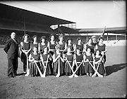 08/10/1961<br /> 10/08/1961<br /> 08 October 1961<br /> All Ireland Camogie Final at Croke Park, Dublin. Tipperary v Dublin. The Tipperary team.