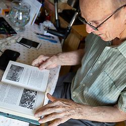 20180820: SLO, People - Portrait of Justin-Marjan Grosar, last living patient of Bolnica Franja