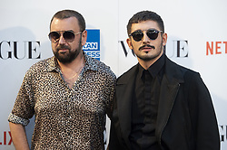 September 13, 2018 - Madrid, Spain - Felix Sabroso and Jau Fornes attends to photocall of Vogue Fashion Night Out 2018 in Madrid, Spain. September 14, 2018. (Credit Image: © Coolmedia/NurPhoto/ZUMA Press)