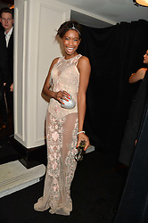 TOLULA ADEYEMI at the Warner Music Group & Belvedere BRIT Awards After Party held at The Savoy, London on 19th February 2014.