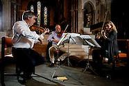 Concert rehearsal, St Mary's Church, Standon