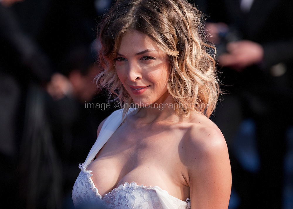 Eleonore Boccara at the gala screening for the film It's Only the End of the World (Juste La Fin Du Monde) at the 69th Cannes Film Festival, Thursday 19th  May 2016, Cannes, France. Photography: Doreen Kennedy